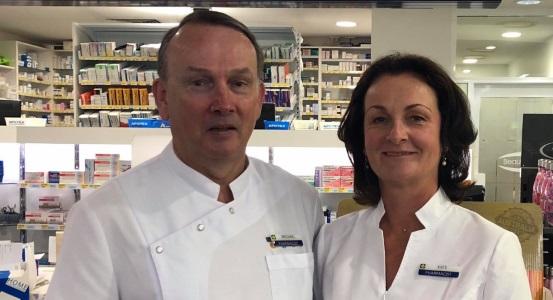 Michael & Kate Knynenburg The Gap Day & Night Pharmacy Owners
