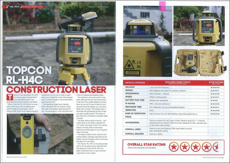 TopCon Laser benasser
