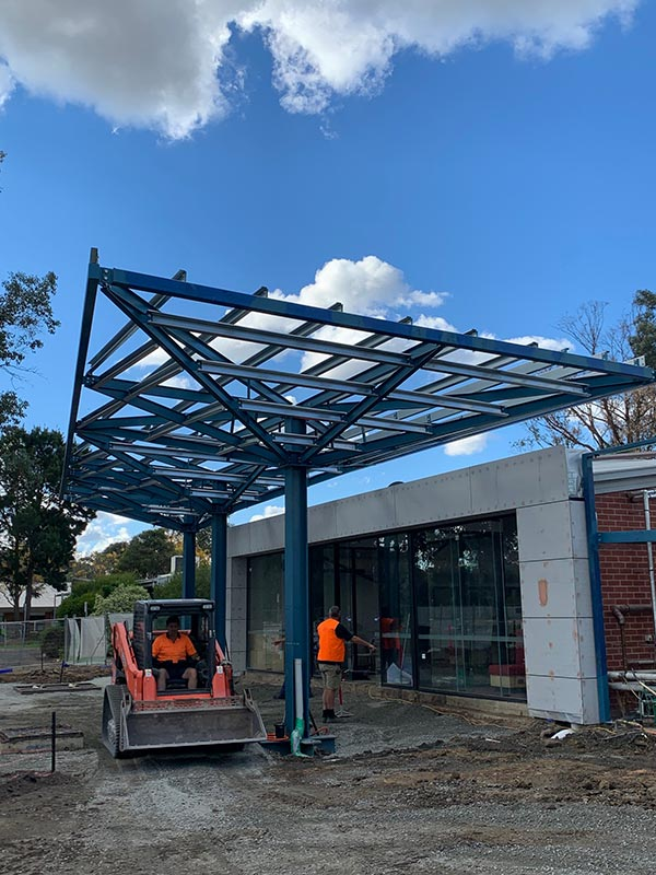 Truline-Engineering-Canopy-Frame-architectural-steel-fabrication-melbourne