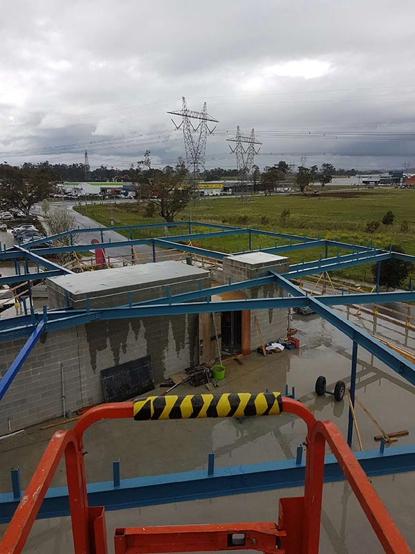 Truline-Engineering-outdoor-steel-roof-structural-steel-fabrication-melbourne