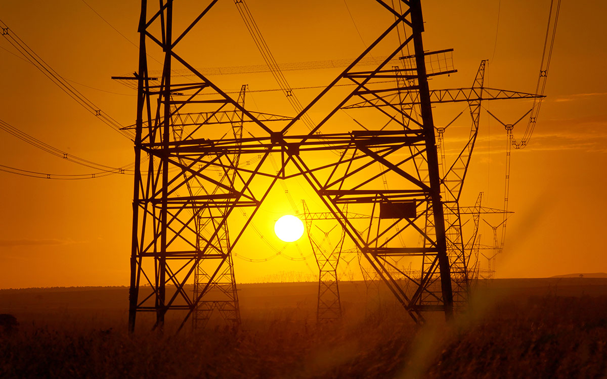 Utilities power lines