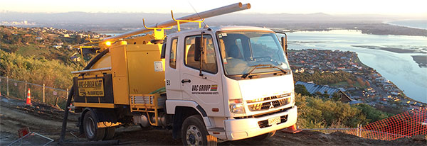 Vac U Digga NZ Vacuum Truck on Site