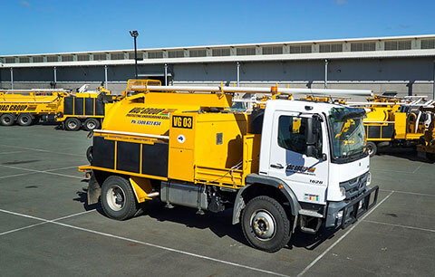 3000L vac trucks for sale