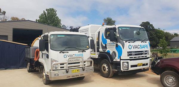 Vacsafe-3000LTR-sucker-truck-hire-new-south-wales-Mudgee