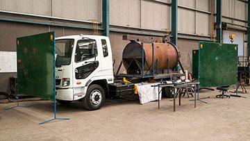 Vacuum excavator maintenance by VAC Group Ormeau