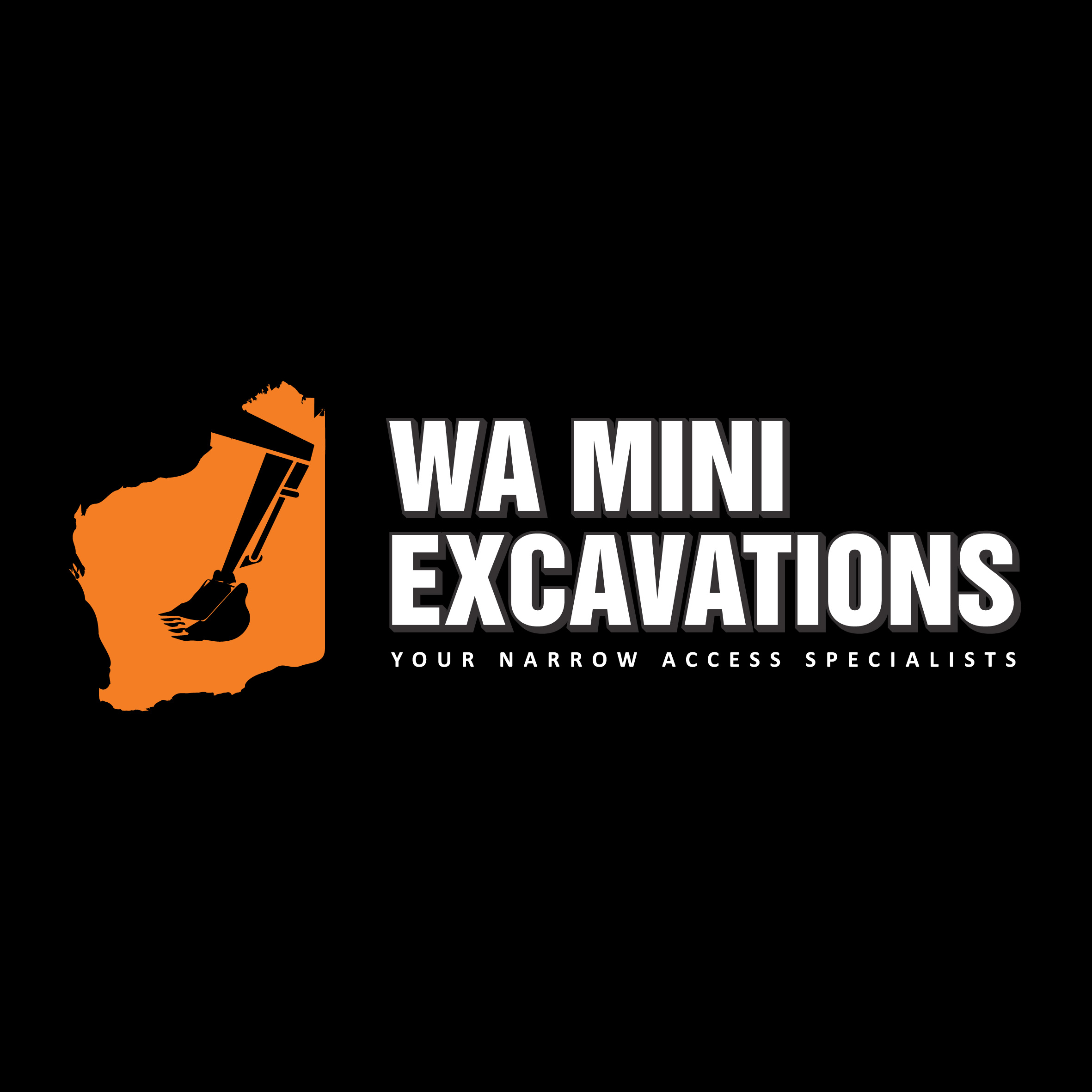 WA Mini Excavations Logo