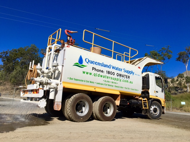 Dust suppression QLD WATER SUPPLY