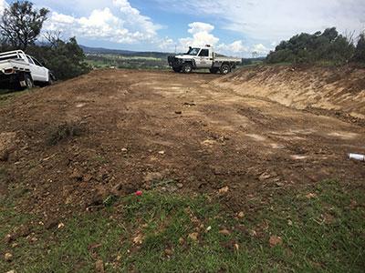 Weber-Excavations-roadworks-ute-kerry