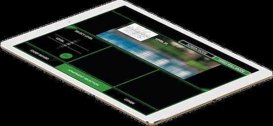 White iPad Q1 Design