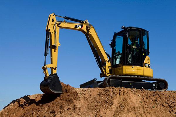 5T Caterpillar excavator