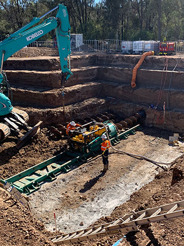 AHA Boring Horizontal Auger Boring Services Pipeline Excavation and Construction