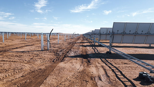 All Energy Contracting Sunraysia Solar Farm DECMIL 225MWDC Trenching Backfilling HV/DC Cabling