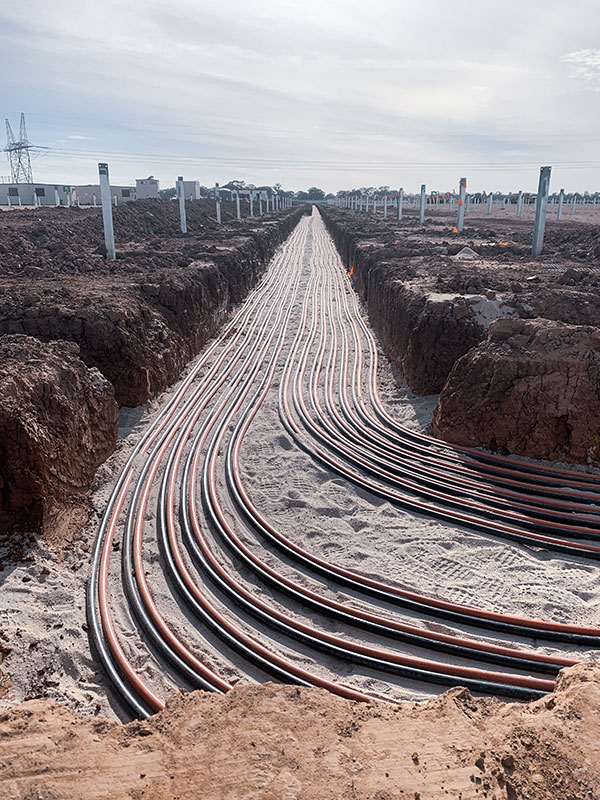 All Energy Contracting Cable Laying Sumner