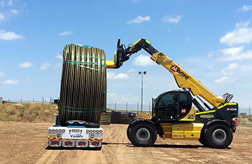 All Energy Contracting Cable Laying Telehandler Hire Sumner Queensland