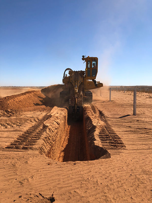 All Energy Trencher Hire Sumner