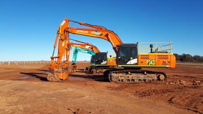 All Energy Contracting Plant Hire Excavators for hire Sumner, Queensland