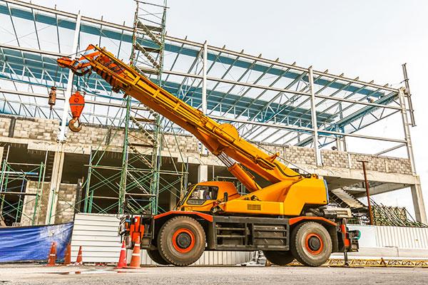A.M. Cranes all terrain crane hire