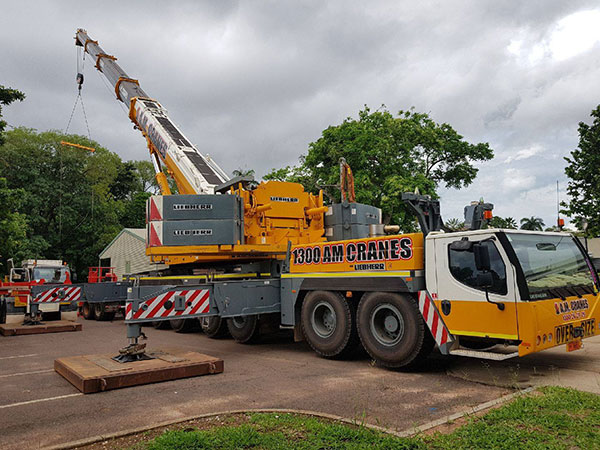 400 tonne all terrain crane hire