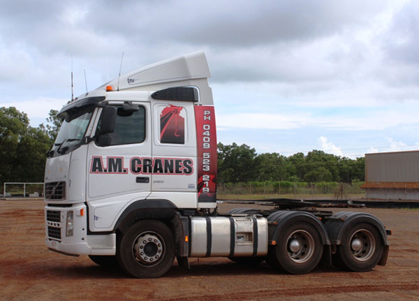 A.M. Cranes and Rigging primer mover truck hire