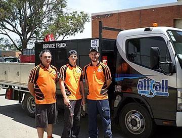 Attcall Civil Contractors Maintenance Team Service Truck