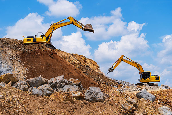 Attcall Civil Contractors Excavators available for bulk and detailed excavation
