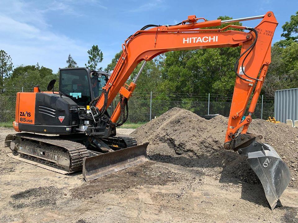 AusQuip Plant Hire Excavator Hire