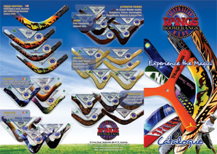 Rangs Boomerangs Catalogue