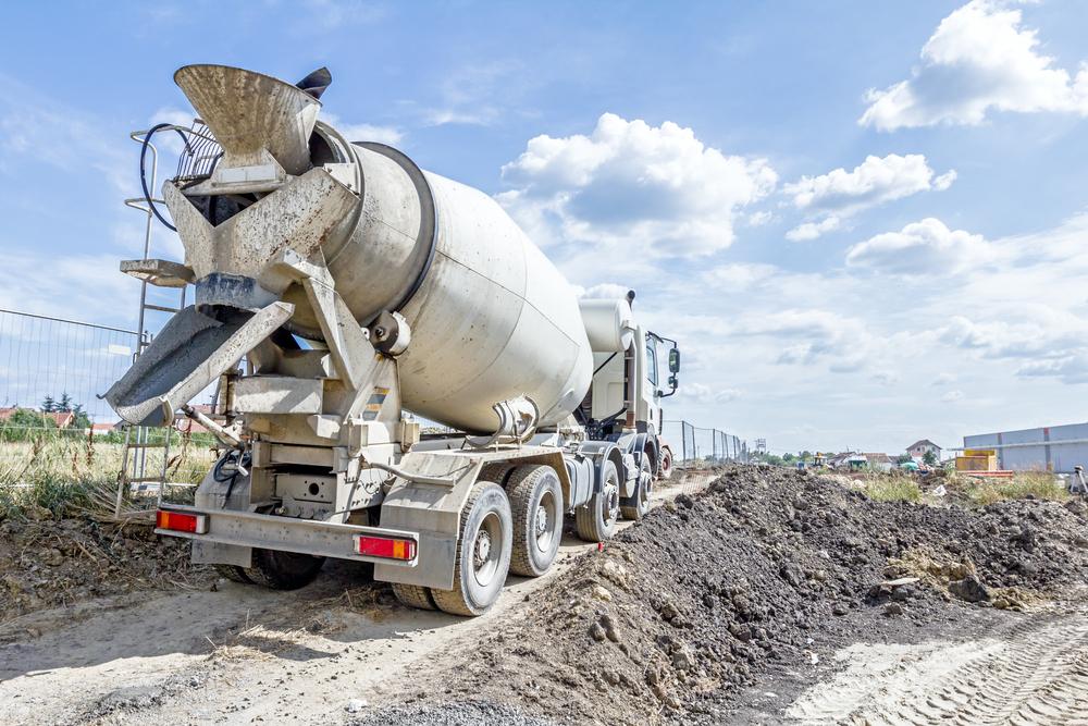 concrete delivery service