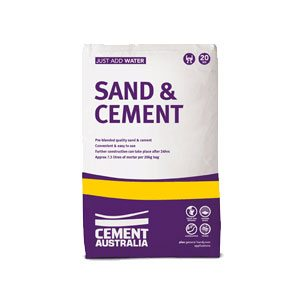 Cre8tive Landscaping Supplies Sand & Cement for sale – 5kg & 20kg