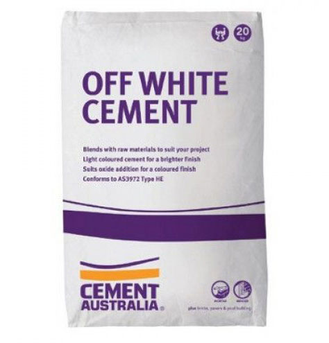 Cre8tive Landscaping Supplies Off White Cement for sale – 20kg