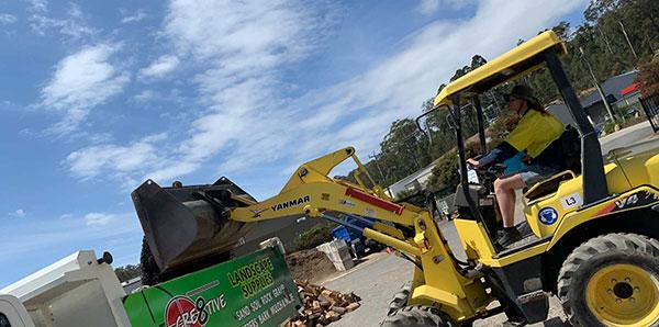 Cre8tive Landscape Supplies loader eurobodalla shire