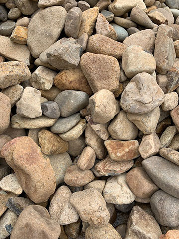 Cre8tive Landscaping Supplies 100mm River Rocks for sale