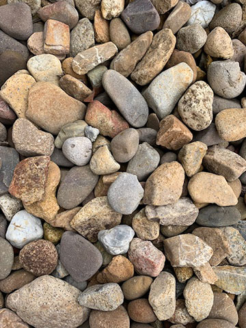 Cre8tive Landscaping Supplies 50mm River Pebbles for sale