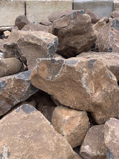 Cre8tive Landscaping Supplies Brown Basalt for sale