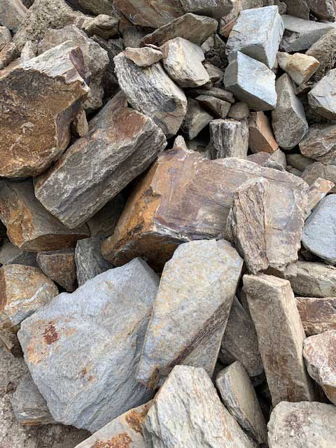 Cre8tive Landscaping Supplies Slate Rocks for sale