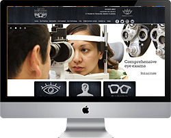 David Shanahan Optician website