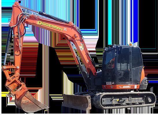Excavator Hire Sunshine Coast Diggerman Earthmoving