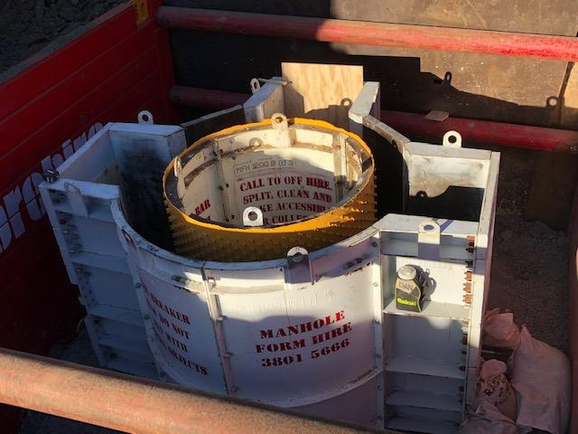 Don't buy precast manholes