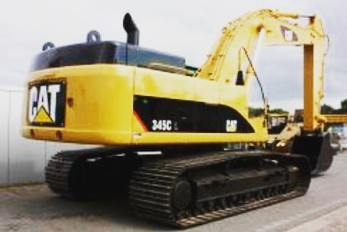 Burns Equipment Excavator CAT 345C