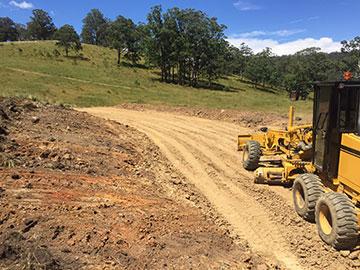 earthscape driveway construction