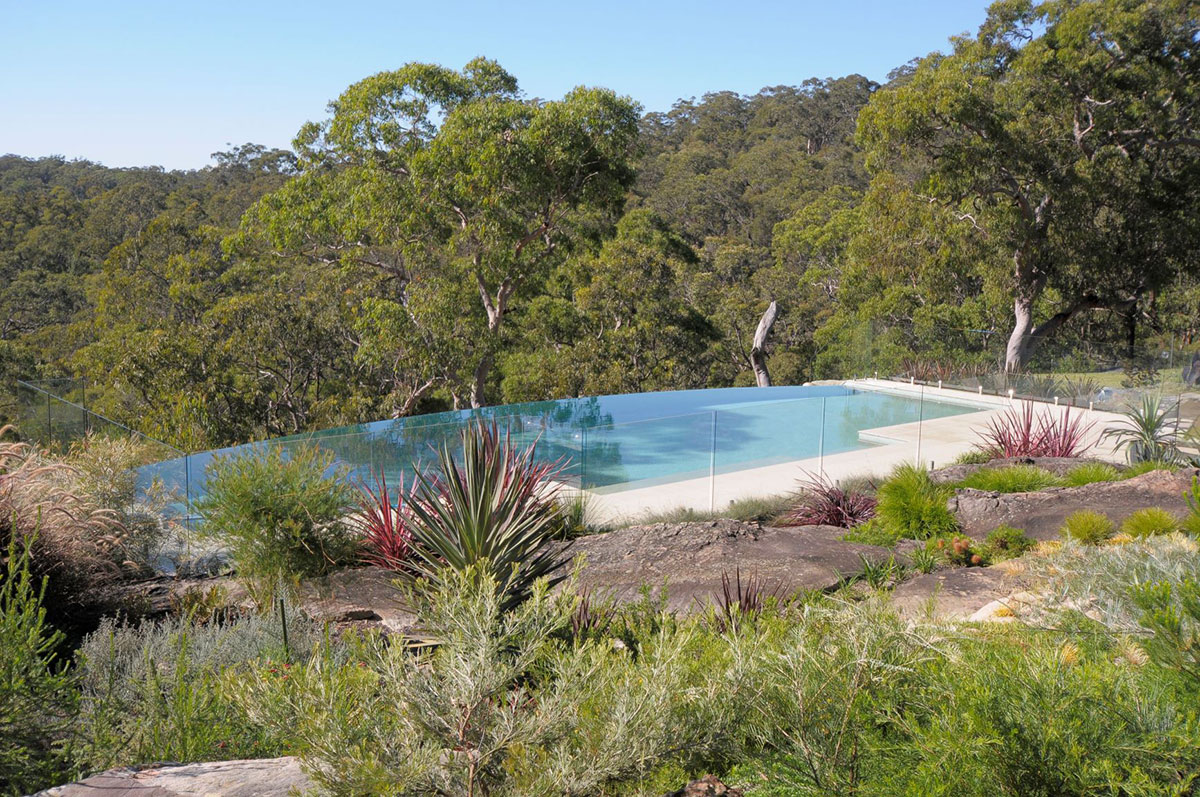 earthscape Glenorie Bushland Pool 4