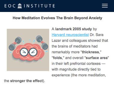 eco institute - como la meditación cambia el cerebro