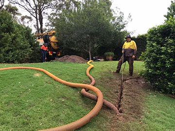 Ezali Hydro Excavations & Communications Strip Trenching in Toowoomba