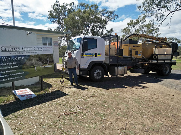 Ezali Hydro Excavations & Communications Hydro Excavation Specialists at Clifton Golf Club
