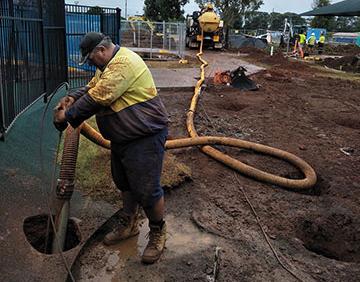 Ezali Hydro Excavations & Communications Potholing in Toowoomba