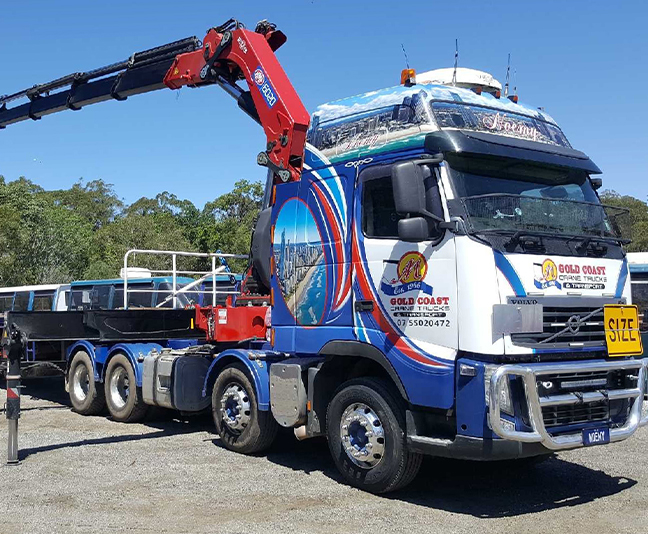 Gold Coast Crane Trucks Noemy Crane Nerang