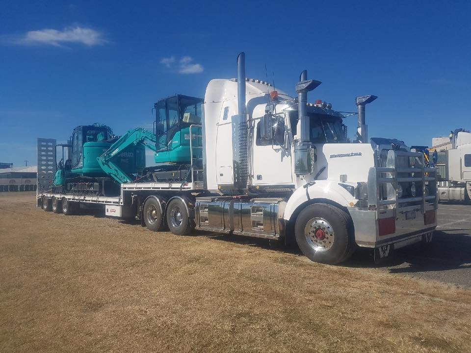Freight Solutions Australia low loader