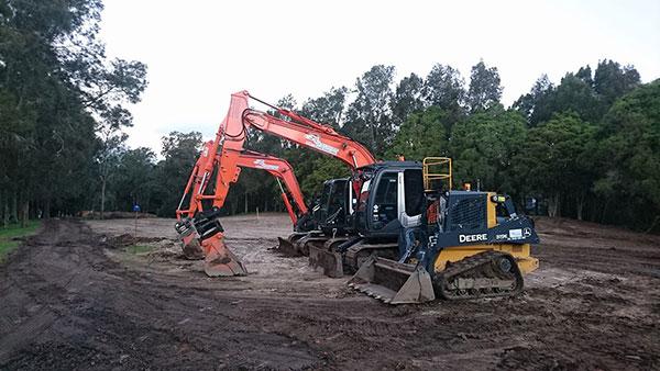 Spectran Group Excavator Bucket Attachment Hire Hobart