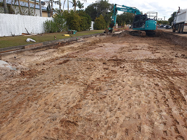 Hawe Earthmoving Road Works Bundaberg