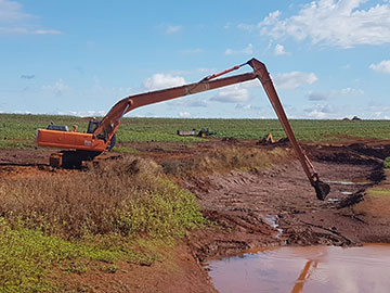 Hawe Earthmoving Water Channels Bundaberg
